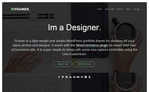 Framer Lite - Bold Portfolio WordPress Theme