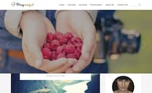 Blogangel - Free WordPress Blog Theme