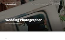 Benson - Premium Photography WordPress Theme