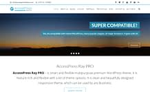 AccessPress Ray Pro Responsive Premium WordPress Business Theme