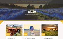 Alizee - Free WordPress Grid-Based Theme