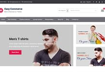 Easy Commerce - Free eCommerce WordPress Theme
