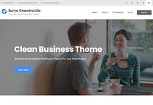 Surya Chandra Lite - Free Multipurpose WordPress Theme