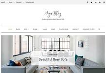 Mega Blog - Free WordPress Blog Theme
