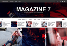 Magazine 7-Best Free WordPress Themes June 2018