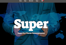 Super - Free Multipurpose WordPress Theme