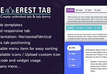 Everest Tab - Responsive WordPress Tab Plugin