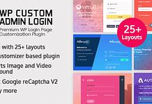 WP Custom Admin Login - Premium WordPress Login Page Customization Plugin