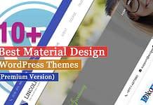 Best Premium Material Design WordPress Themes