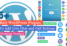 5+ Best WordPress Plugins to Add Live Chat and Call Buttons
