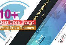Best Free Event WordPress Themes