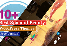 Best Free Spa and Beauty WordPress Themes