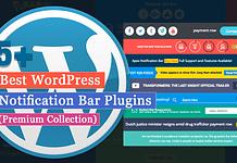 5+ Best WordPress Notification Bar Plugins (Premium Collection)