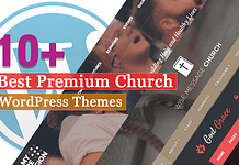 Best Premium Church WordPress Themes