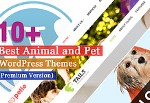 Best Premium Animal and Pet WordPress Themes