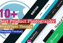Best Premium Product Photography WordPress Themes