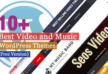 Best Free Video and Music WordPress Themes