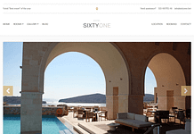 SixtyOne - Responsive WordPress Hotel/Resort Theme
