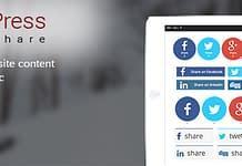 AccessPress Social Share