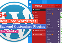 Best Free WordPress Backend Customizer Plugins