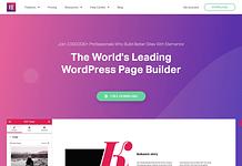 Elementor Pro : WordPress Page Builder Plugin