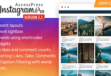 AccessPress Instagram Feed Pro - Premium Instagram Feed WordPress Plugin