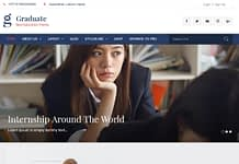 Graduate - Free WordPress Education Theme