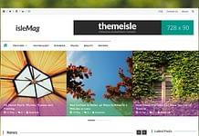 IsleMag - Best Free Adsense WordPress Themes
