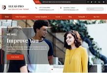 Elead - Free WordPress Educational Theme