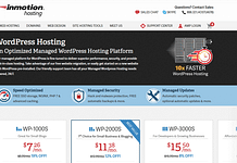 InMotion Hosting - Reliable WordPress Hosting Provider