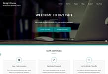 Bizlight - Free WordPress Multipurpose Theme