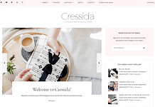 Cressida - Free Blog WordPress Theme