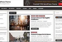 FreshWP - Free Blog WordPress Theme