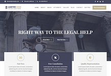 Lawyer Zone – Free Lawyer WordPress Theme