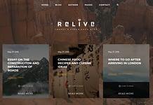 Relive - Premium Blog WordPress Theme