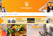 VW Newspaper - Free Magazine WordPress theme