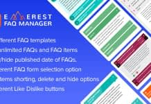 Everest FAQ Manager - Responsive WordPress FAQ Plugin