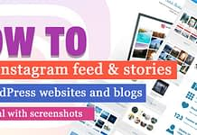 How to add Instagram Feed in WordPress website - Tutorial