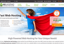 A2 Hosting WordPress Hosting Services