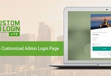 WP Custom Admin Login Lite -Free WordPress Login Page Customization Plugin