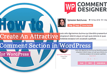 How to create an attractive comment section in WordPress? (Step by Step Guide)