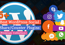 5+ Best WordPress Social Media Share/Counter Plugins
