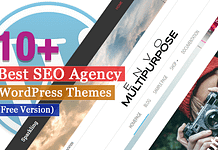 Best Free SEO Agency WordPress Themes