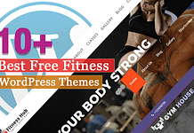 Best Free Fitness WordPress Themes
