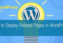 How to Display Related Pages in WordPress