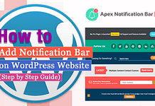 How to Add Notification Bar on WordPress Website? (Step by Step Guide)