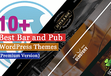 Best Premium Bar and Pub WordPress Themes