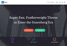 Neve - Free WordPress Multipurpose Theme