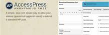 AccessPress Anonymous Post