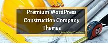Best Premium WordPress Construction Company Themes 2017